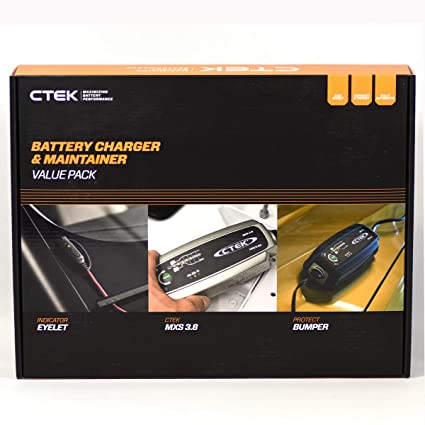 CTEK 40-313 Vehicle Battery Charger Auto Negro cargador de ...