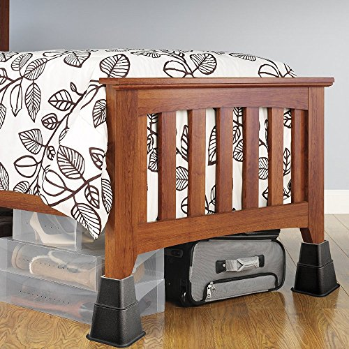 Home Solutions Furniture: Home Solutions Premium Adjustable Bed Risers Or Furniture