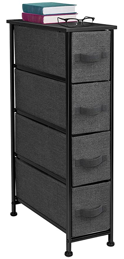 Amazoncom Sorbus Narrow Dresser Tower With 4 Drawers Vertical