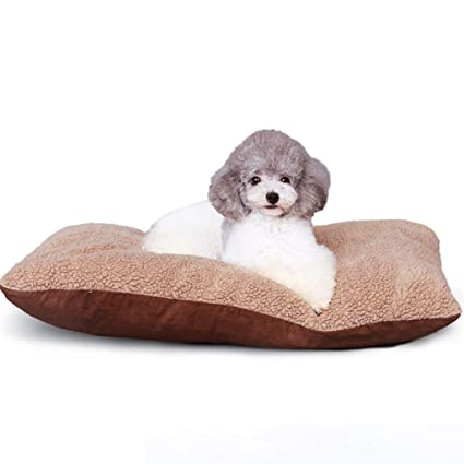 Xi Man Shop Gatos Suaves Cojines de Perros Cama para Mascotas acogedora Cama de Perro (