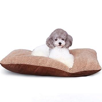 Xi Man Shop Gatos Suaves Cojines de Perros Cama para Mascotas acogedora Cama de Perro (Size : L): Amazon.es: Hogar