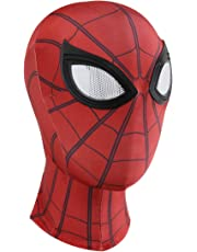 8847d208d Supmaker 3D Spiderman Masks Spider Man Cosplay Costumes Lycra Mask  Superhero Lenses