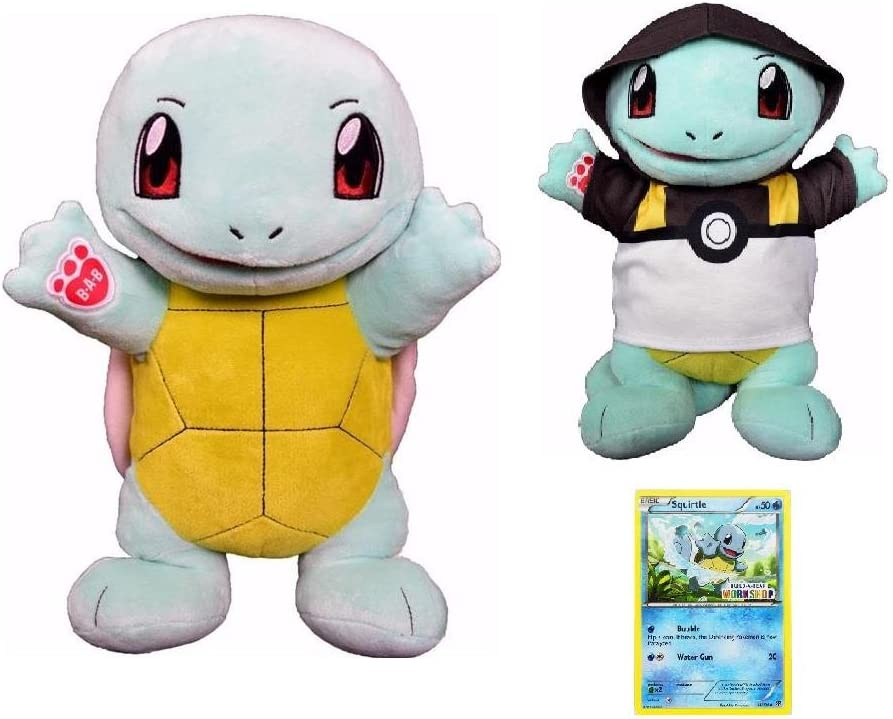 Clothing Build-A-Bear Pokemon SQUIRTLE Collectors Gift Set New w//Sound Card