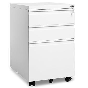 Rollcontainer, inkl. 3 Schübe, grundsolide Verarbeitung, optimal für ...
