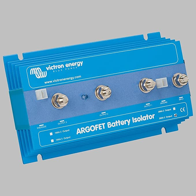 Batterie Ladestromverteiler Argofet 200a 3 Batteriebänke Baumarkt