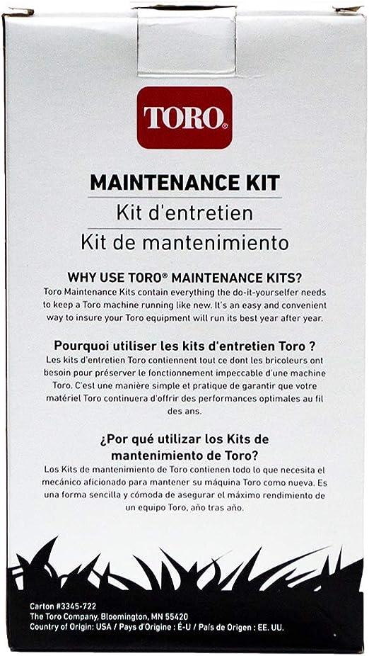Genuine OEM Toro 138-0699 Maintenance Kit for 21 Power Clear 621 ...