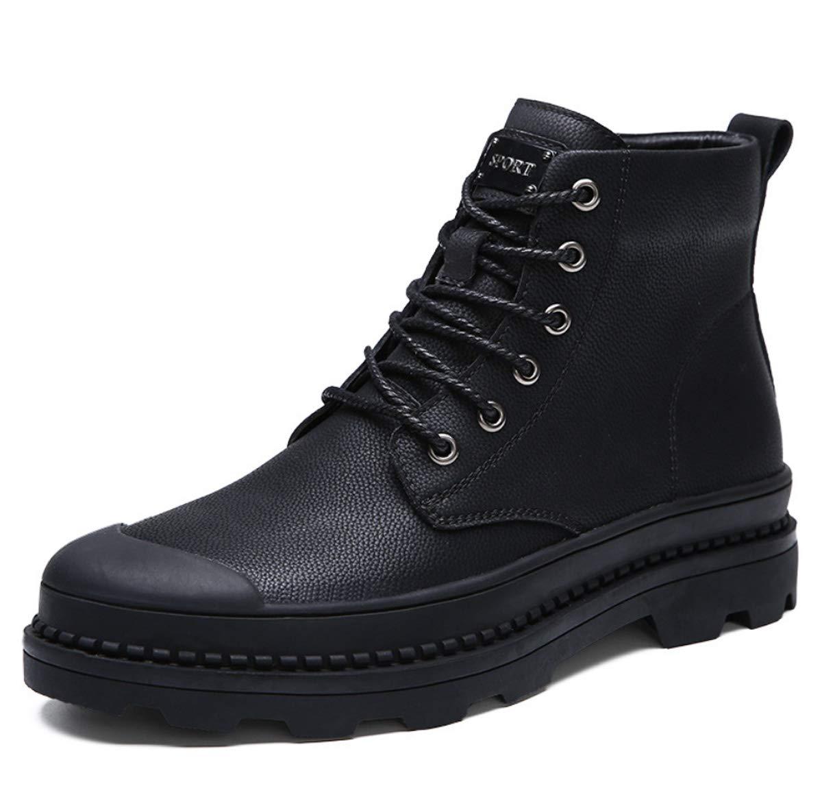 DANDANJIE Herren High-top Schuhe Leder Martin Stiefel Chelsea Stiefel Casual Angeln Werkzeug Stiefel