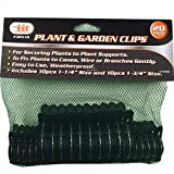 """IIT 30510 20Pc Plant & Garden Clips Securing Flowers Bushes Branches Vine 1-1/4"""" 1-3/4"""","""