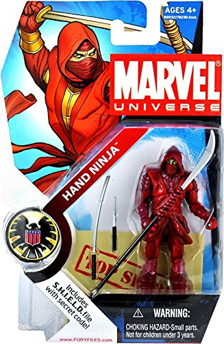 Marvel Universe Series 1 Action Figure #024 Hand Ninja 3.75 Inch