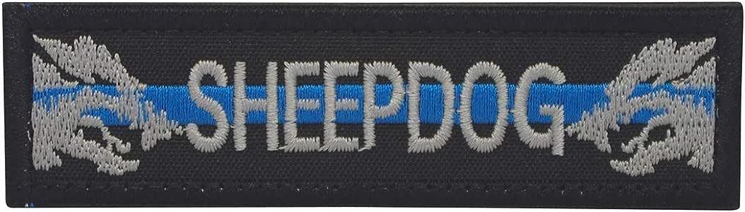 Cobra Tactical Solutions K9 Dog Ovejero línea Azul policía Parche Bordado Táctico Moral Militar con Cinta adherente de Airsoft Paintball para Ropa de Mochila Táctica: Amazon.es: Hogar