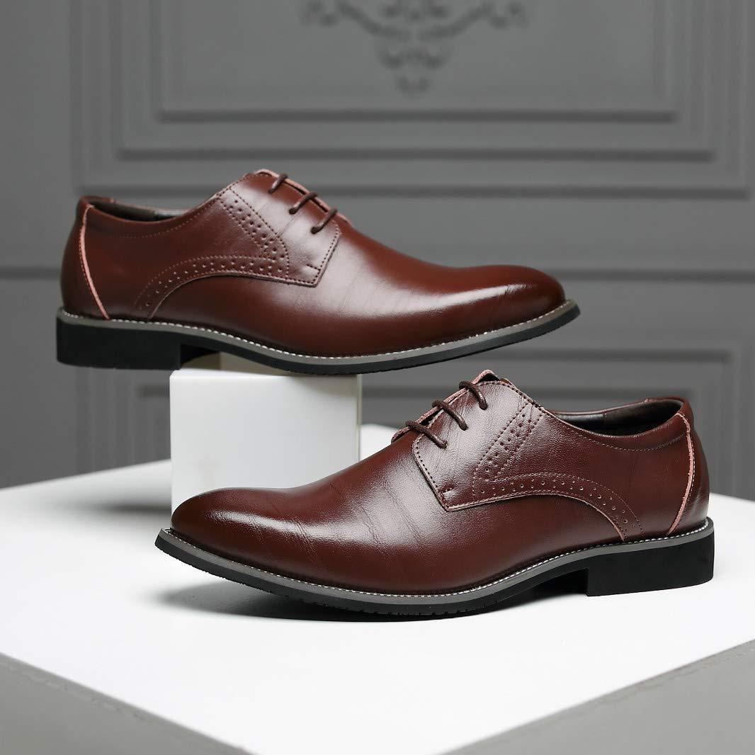 AIMENGA Zapatos De Cuero De Los Hombres De Negocios De Primavera Y Otoño Zapatos De Cuero De Los Hombres De Negocios 48 Zapatos XHMENG