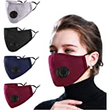 Woplagyreat Adult Reusable Soft Fabric Fashion Face Mask with Adjustable Ear Loops for Protection