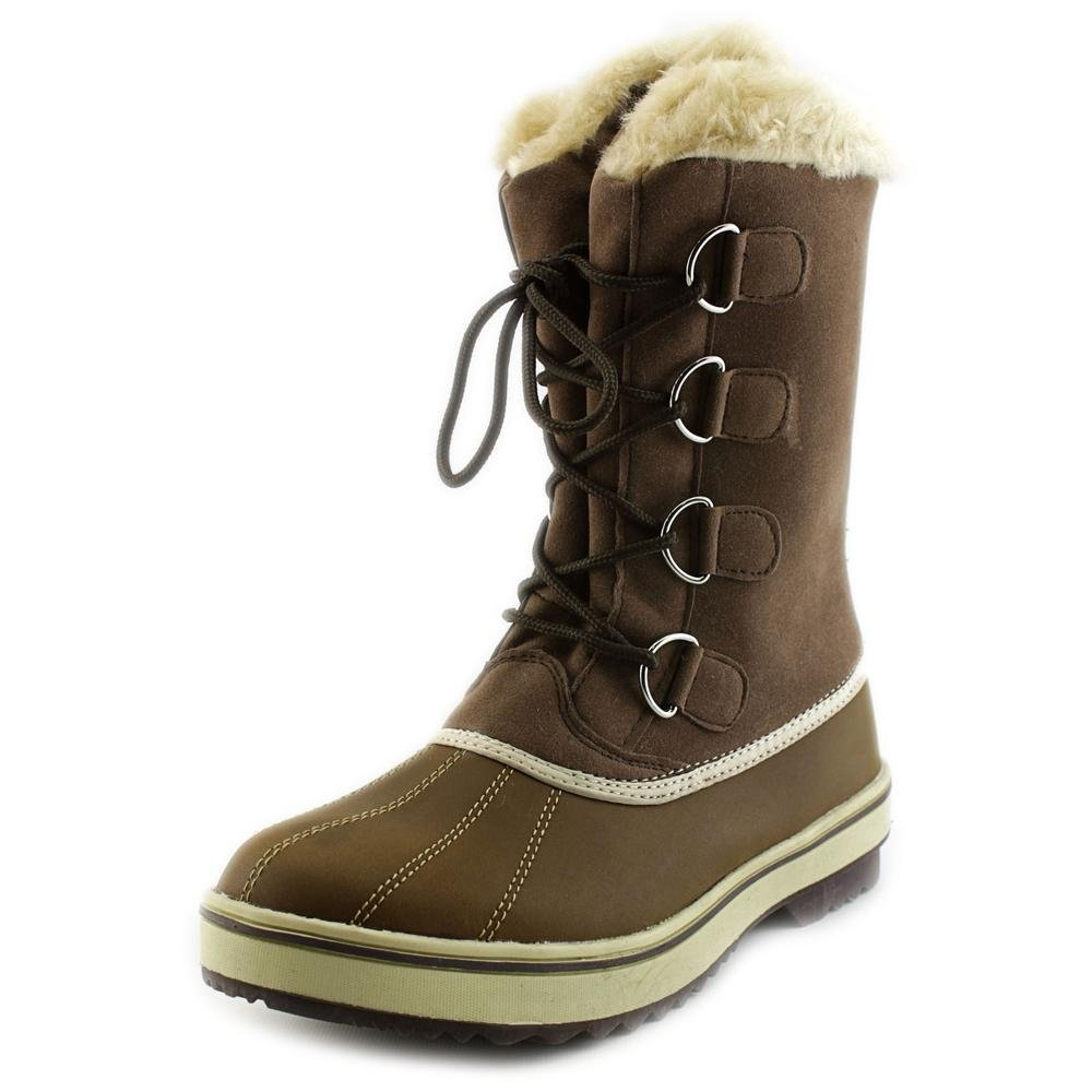 Style & Co. Mikkey Women US 9 Brown Snow Boot