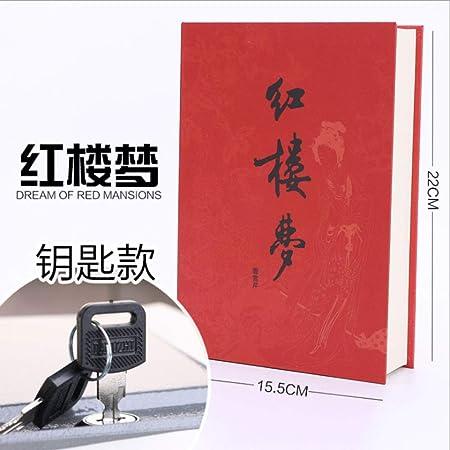 BOOKSAFEBOX Caja Fuerte En Forma De Libro Caja Fuerte De Libros Caja De Caudales Camuflada, Páginas De Papel Auténticas,C: Amazon.es: Hogar