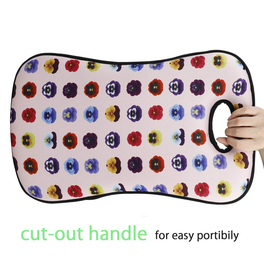 SUREH Garden Kneeling Pad Extra Thick Soft Garden Kneeler Mat for Gardening Large Kneeling Mat for Exercise /& Yoga Bath Kneeler for Baby Bath 20 x 12 x 1.8inch