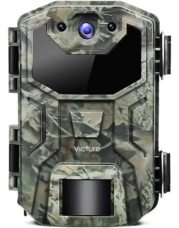 Victure Wildkamera 16MP 1080P Full HD No Glow Infrarot Nachtsicht Überwachungskamera con Bewegungsmelder Nachtsicht y Upgrade