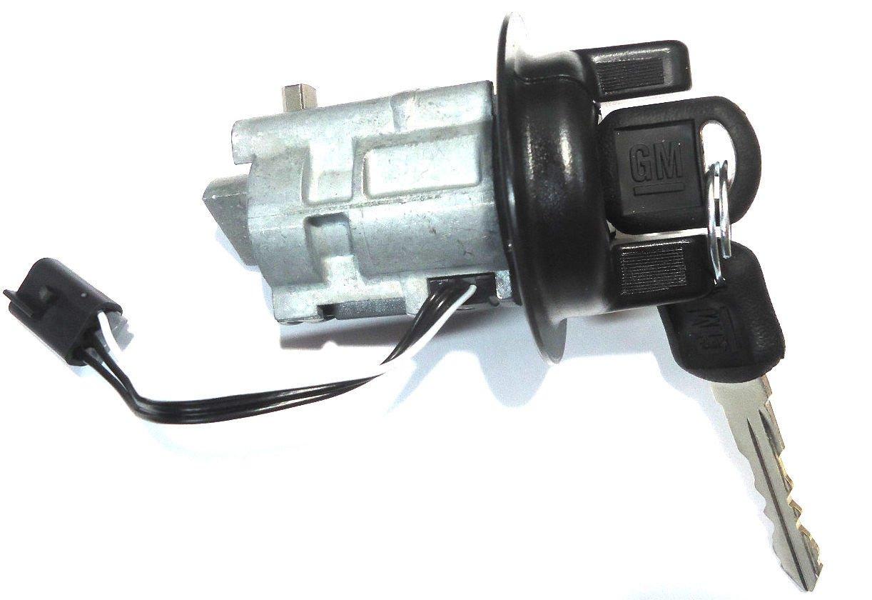 2000 2001 2002 2003 2004 2005 Chevrolet Cavalier Ignition Switch Wiring Diagram For 1931 Chevy Pontiac Sunfire Oem Key Lock Cylinder W 2 Gm Matching Logo Keys 705383