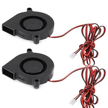 Ventilador Pequeño 2 del Soplador De La Impresora 3D: Amazon ...