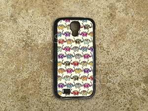 Galaxy S4 Cases Colorful Elephants Pattern Cute BEST TOP Custom Designer Uniq...