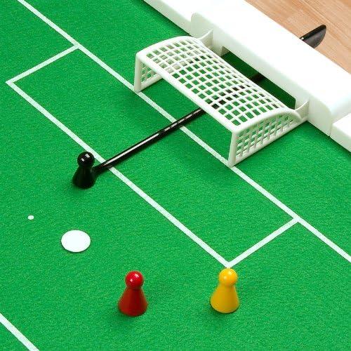 Futbolín a escala 1:100 – Campo de juego enrollable, 108 x 68 cm ...