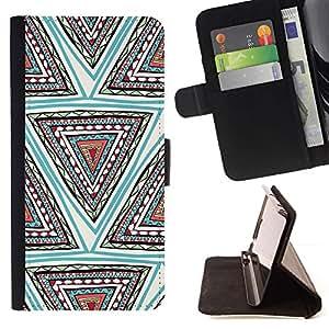 For Samsung Galaxy E5 E500 Case , Diseño Forma Mano trullo profundo- la tarjeta de Crédito Slots PU Funda de cuero Monedero caso cubierta de piel