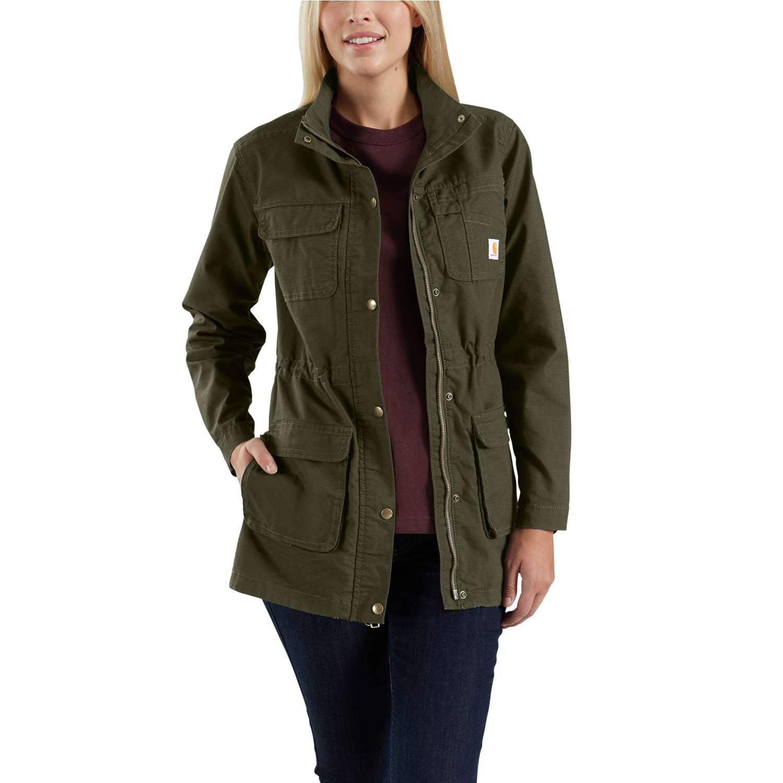 Carhartt Women's Smithville Jacket, Olive, XXL by Carhartt