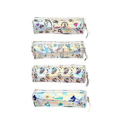 Jolie bo/îte /à crayons licorne avec stylos licorne color/és Trousse /à crayons licorne Joli cadeau danniversaire pour filles rose