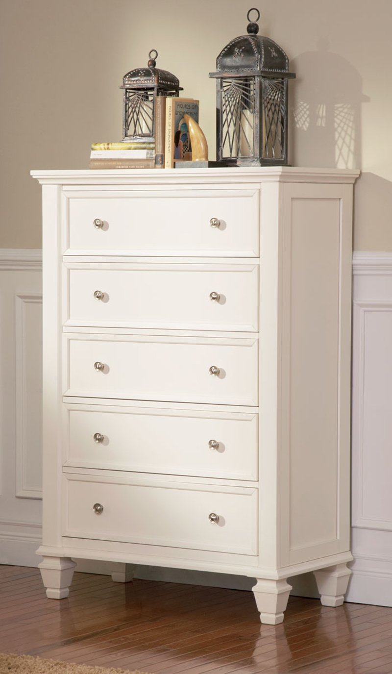 . Amazon com  Coaster Sandy Beach Chest White  Kitchen   Dining