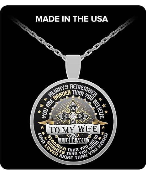 Amazon Wife Pendant Necklace