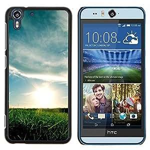 Stuss Case / Funda Carcasa protectora - Hermoso prado - HTC Desire Eye M910x