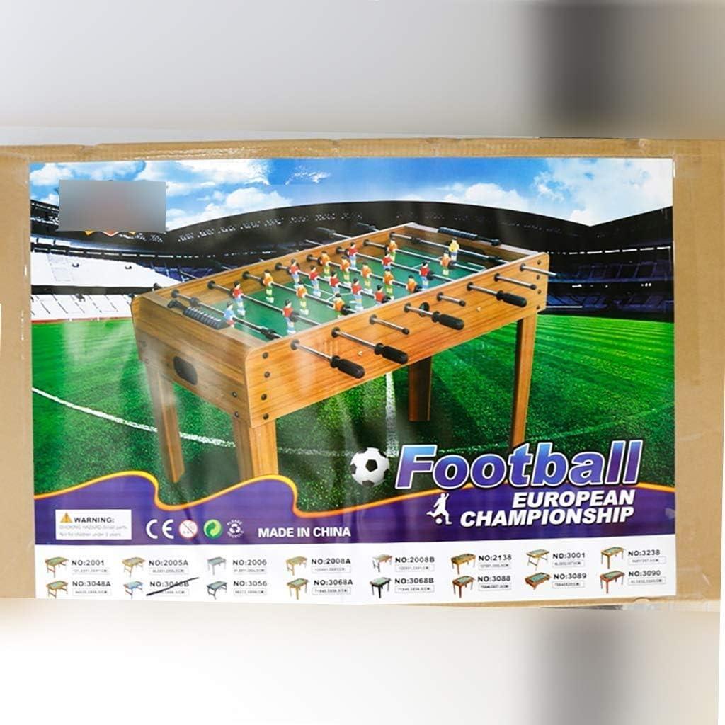 WJMLS Mesa de futbolín para niños Fútbol Competición de fútbol Sala de Juegos de Arcade de tamaño para Uso Familiar: Amazon.es: Hogar