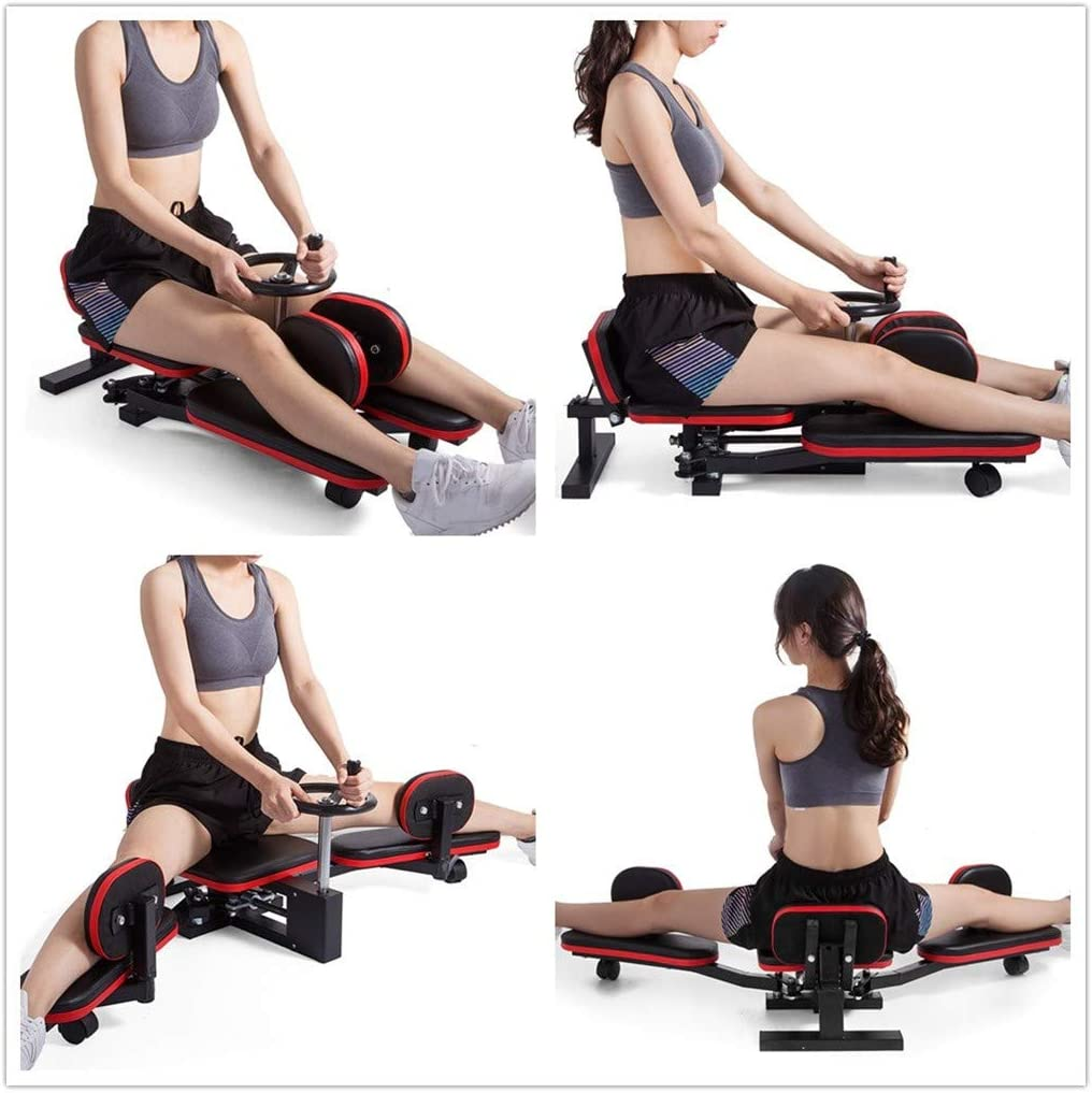 Leg Stretcher & Split Machine - Strength Training Leg Machines - Flexibility Trainer for Yoga & Martial Arts Training Equipment - Extends Over 180 Degrees - Heavy Duty Home/Gym Fitness Stretcher : Sports & Outdoors
