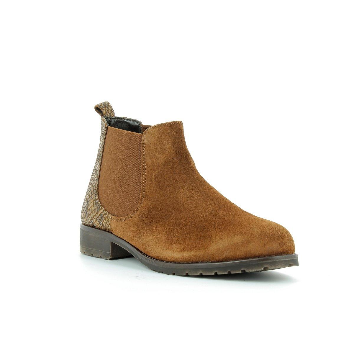 MARCO TOZZI - Bottines 16810 Boots en cuir femmes MARCO comb TOZZI - 25034-27 - Bottes/ Bottines - 36 au 41 Cognac comb eff726d - tbfe.space