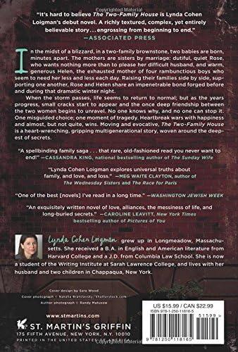 Read The Two Family House By Lynda Cohen Loigman