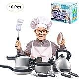 Per Juguetes de Cocinar Utensilios de Cocina Juegos de rol Juguetes de Cocina Pretenden Ollas…