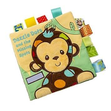 Wilk Suave del bebé de la Arruga El Libro de pa?o con Etiquetas de Color para la Educación Temprana Libro Baby Touch & Toy Actividad sensación para ...