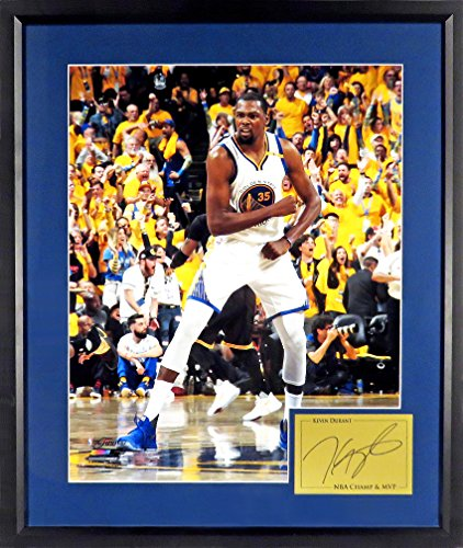 "rant ""NBA CHAMP & MVP"" Celebration 11x14 Photograph (SGA Signature Engraved Plate Series Series) Framed (Celebration Signature Plates)"