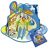 CubicFun Fairytale Time Pinocchio Playset with Educational Storybook, Game Cards and Finger Puppets