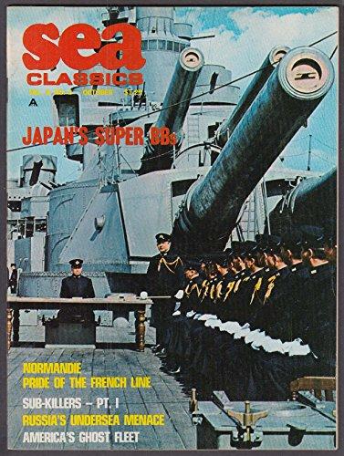 Sub Missile - SEA CLASSICS Normandie Sub-Killers Yamato Soviet Missile Sub ++ 10 1969
