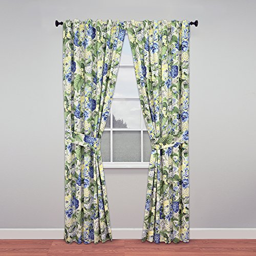WAVERLY Fashion Curtains for Bedroom - Floral Flourish 84