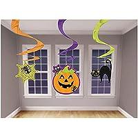 Cadılar Bayramı-Halloween Balkabağı Mini Süs Dalgası