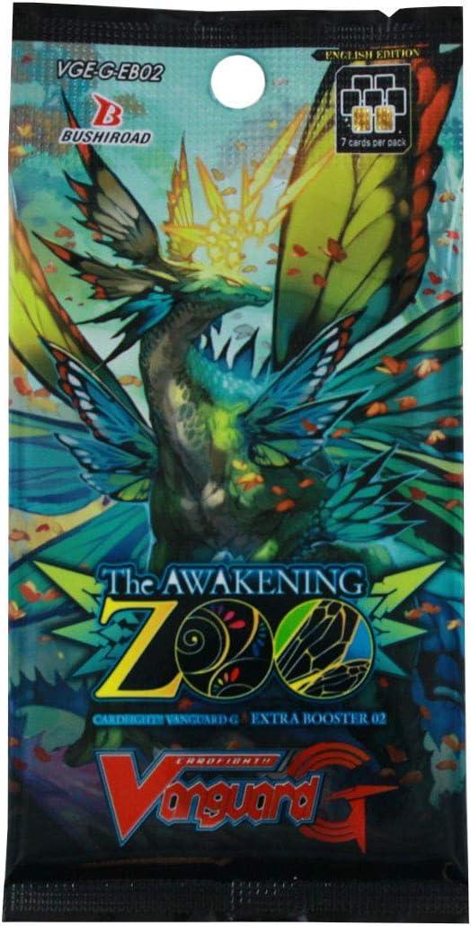Cardfight Vanguard VGE-G-EB02 The Awakening Zoo Extra Booster Box (12 Packs of 7 Cards), Multi Colour [並行輸入品]