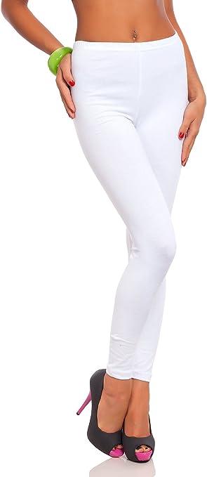 FUTURO FASHION - Leggings Suaves para Mujer - Algodón ...
