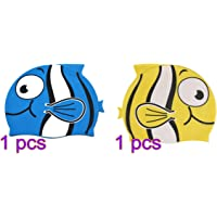 Silicona Cap Tinksky nadar Cap dibujos animados peces