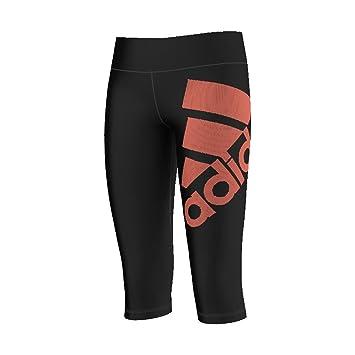 7aeb37b7d0 adidas Wardrobe Capri Training Tight Enfants - - Noir, 128: Amazon ...