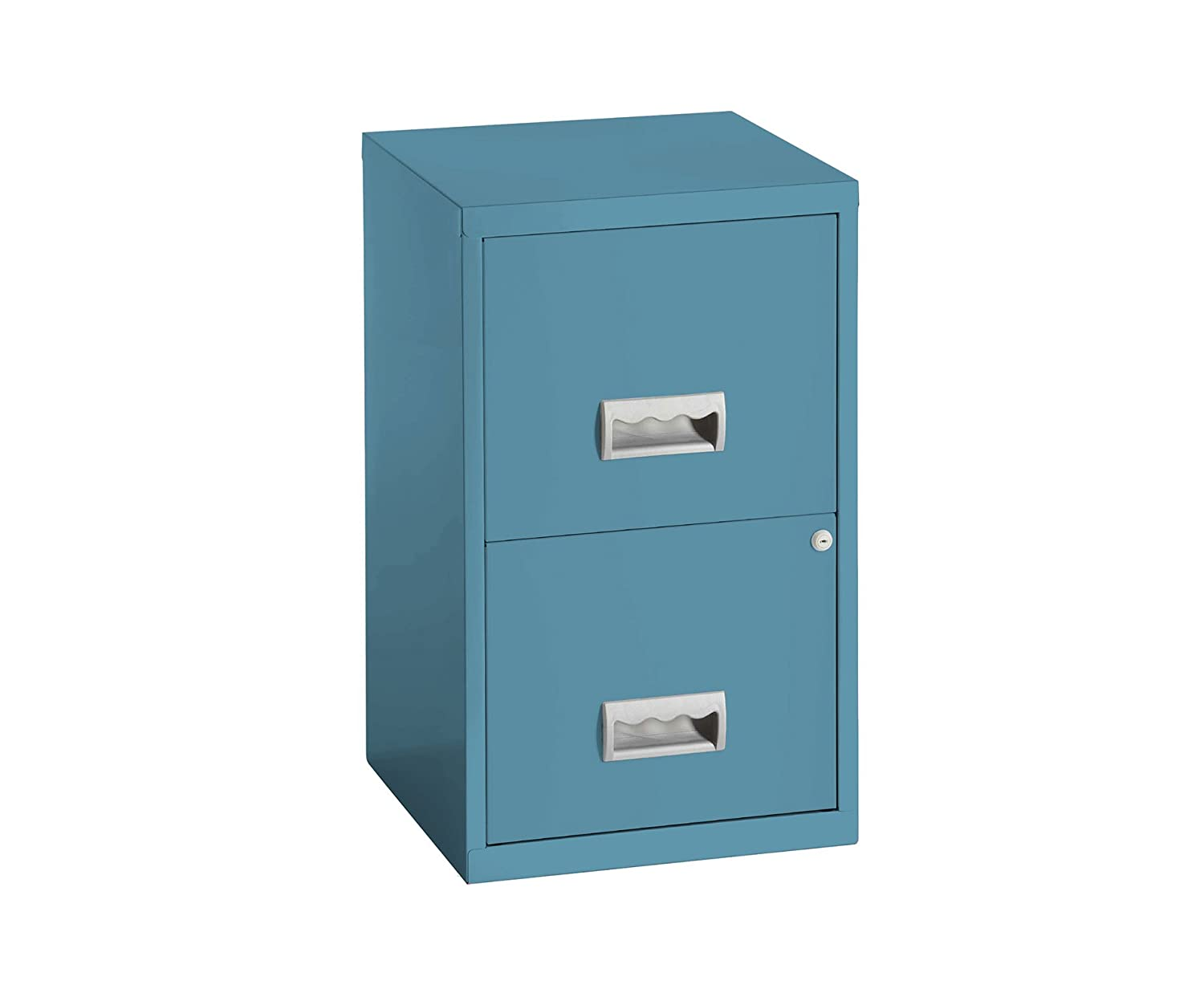 Pierre Henry Lockable A4 Filing Cabinet maxi 2 drawers with Gloss paint finish