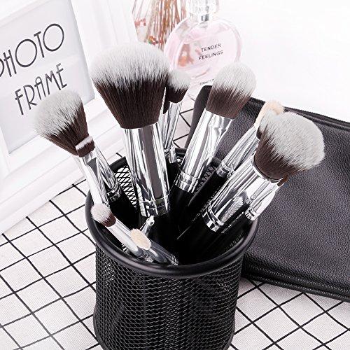 DUcare Makeup Brushes 15 Pcs Makeup Brushes Set Premium Foundation Blending Blush with Cosmetic Bag