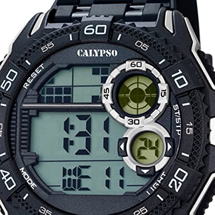 Calypso de hombre - Reloj digital for Man - Digital - Cuarzo - PU - uk5670/4: CALYPSO: Amazon.es: Relojes