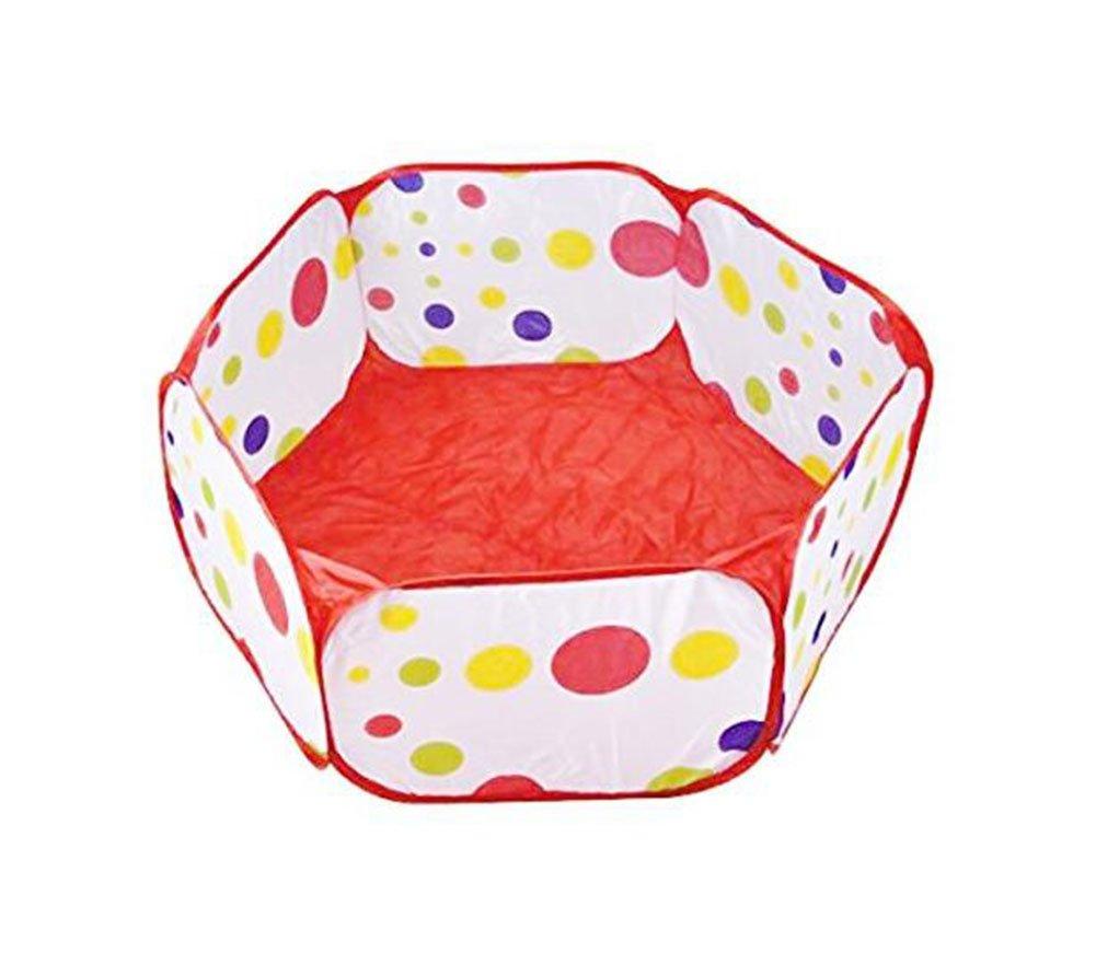 Tienda de campa/ña para ni/ños con bolas de juguete ideal para uso en interiores y exteriores Wicemoon