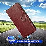 MobileMantra Vintage Wallet for Xiaomi Redmi Note 10s || Real Leather Wallet Phone Case || Genuine Leather with Viewing…